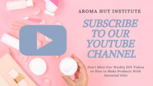 Subscribe to our Youtube Channel _ Aroma Hut Institute
