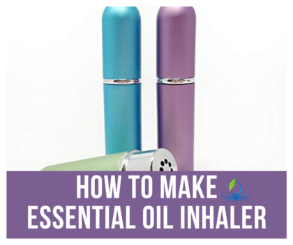 Essential Oil Inhaler | Aromatherapy Inhaler