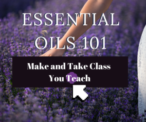 Essential Oils 101 _ Make and Take Class _ Aroma Hut Institute